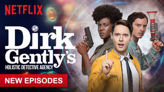 Netflix box art for Dirk Gently's Holistic Detective Agency - Season 2