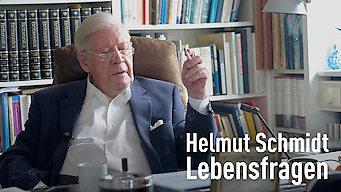Helmut Schmidt -- Lebensfragen